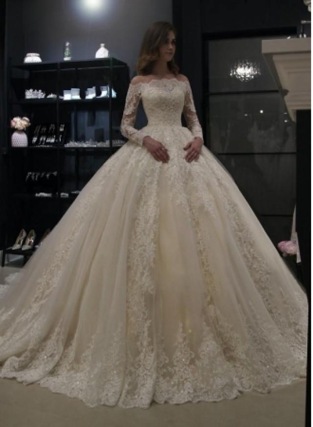 wedding photo - Elegante Brautkleider Prinzessin