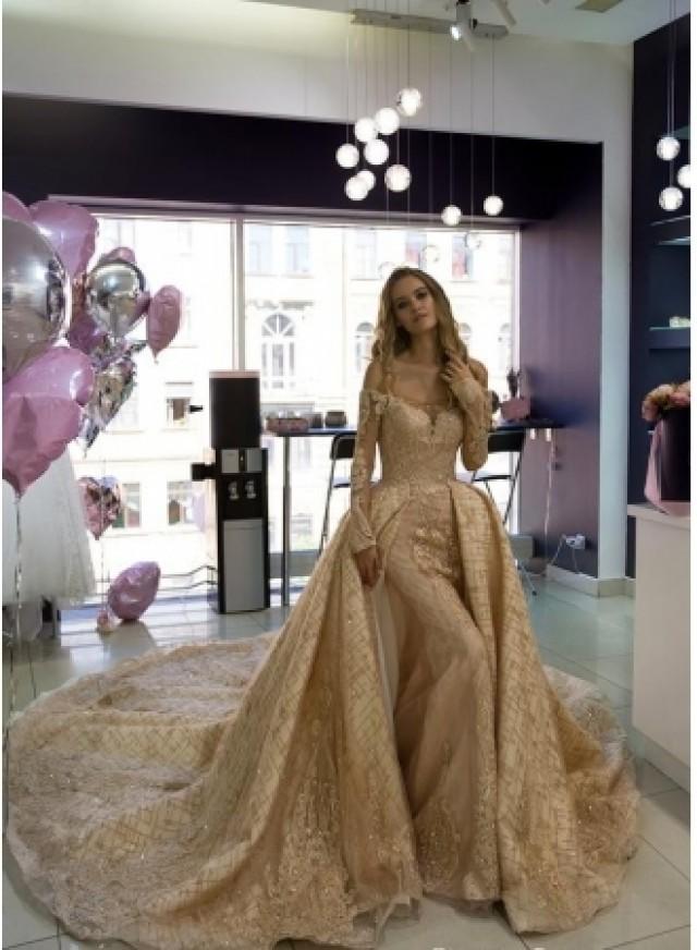 wedding photo - Luxus Brautkleider Mit Gitzer