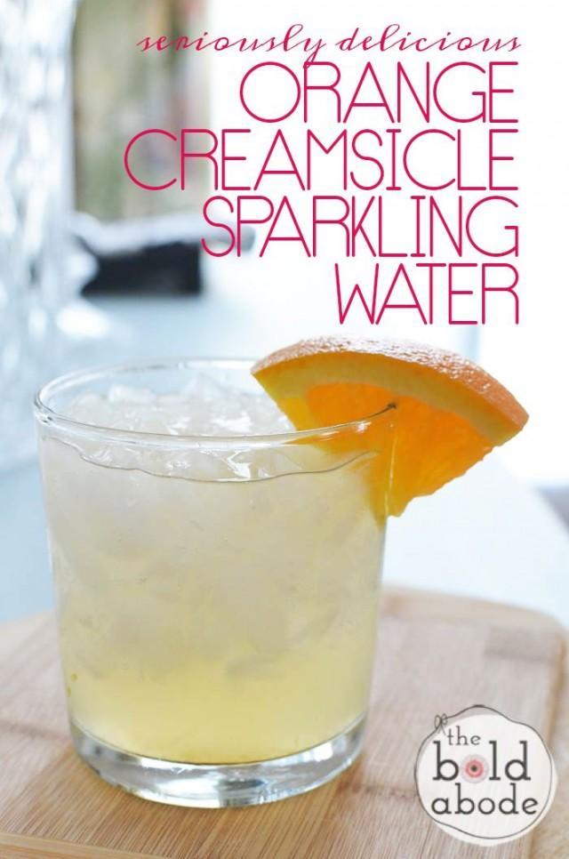 Orange Creamsicle Sparkling Water
