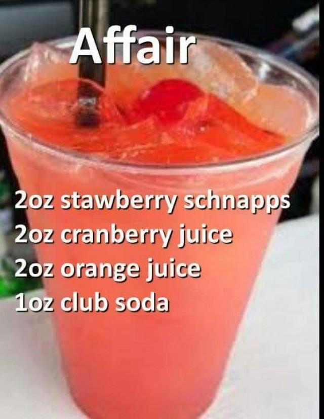 Change Schnapps To Strawberry Purée For Non-alcoholic Version
