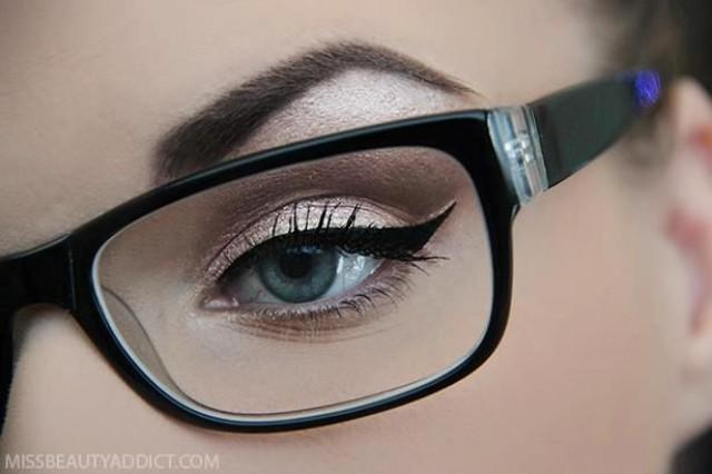 Top 10 Make-up For Glasses Ideas