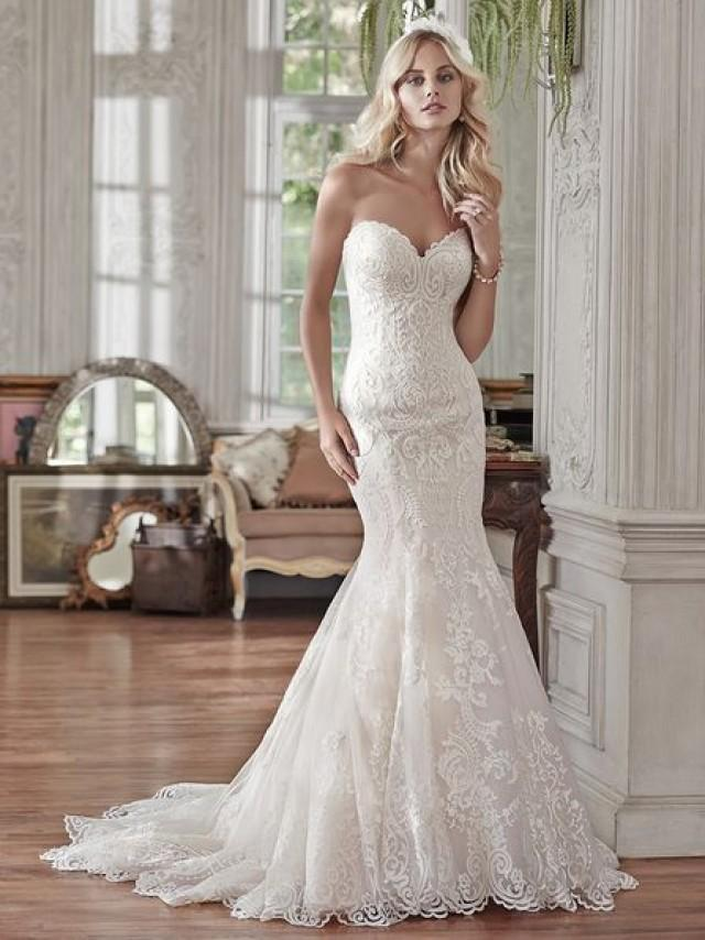 COMING SOON! @maggiesottero - Rosamund Available At Bucci's Bridal In Pewaukee, WI