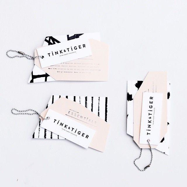 Cool Branding Stuff By 42Pressed For Tink   Tiger... It's All In The Details
