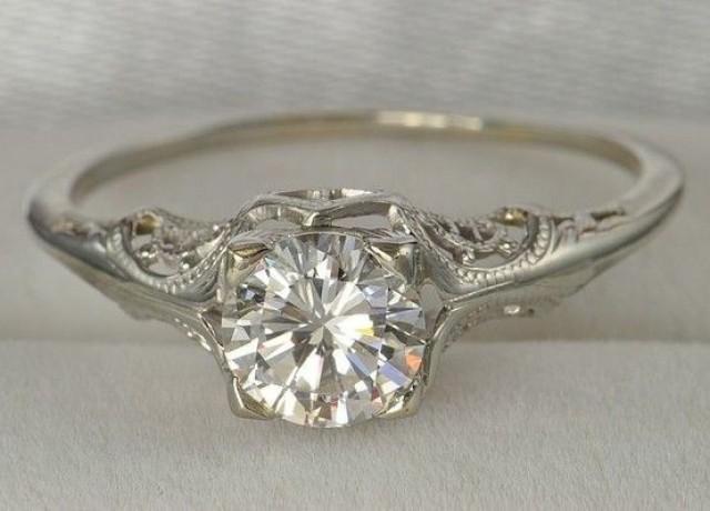 Vintage Wedding .. Ring