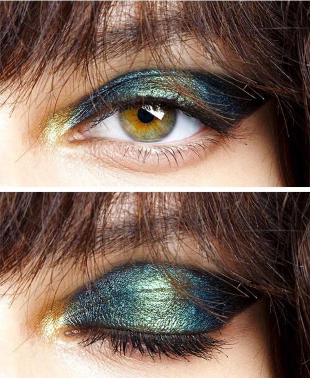 Esse Olho Esfumaçado De Verdeficam Principalmente Bem Em Negras E Mulheres Com Olhos Claros:)!Se Joga:)