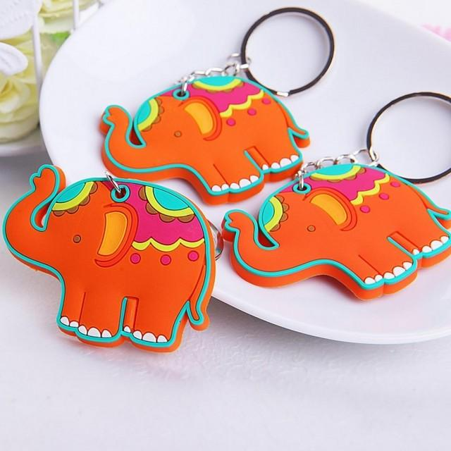 wedding photo - #beterwedding  Lovely Elephant Pendant Key Chains Birthday Gift Party Favors