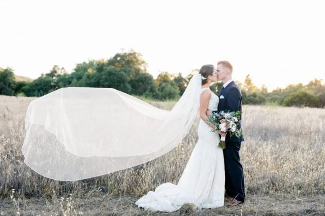 Cathedral Veil, Cathedral Bridal Veil, Swarovski Crystal Cathedral Veil, Crystal Beaded Edge Veil, Cathedral Wedding Veil, Veil ~VB-5061-CA