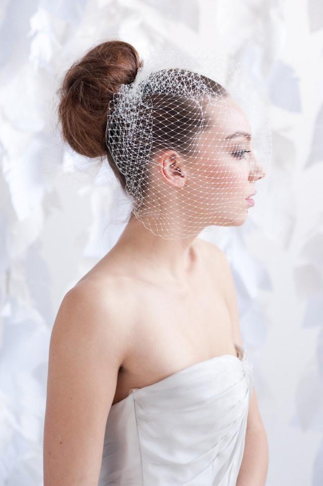 Birdcage veil - multiple colors lengths- ready to ship