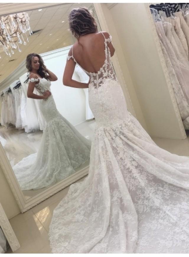 wedding photo - Elegante Brautkleider Spitze