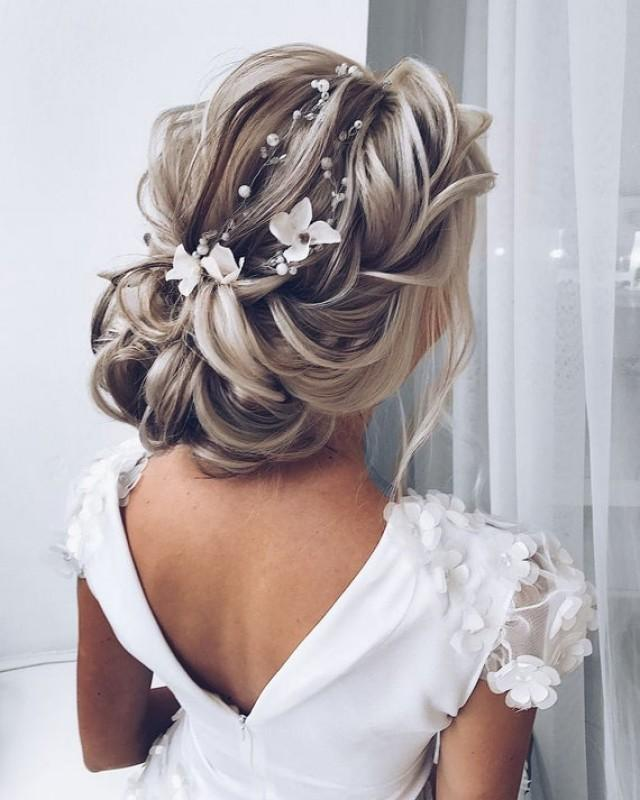 wedding photo - Flower hair pieces for wedding