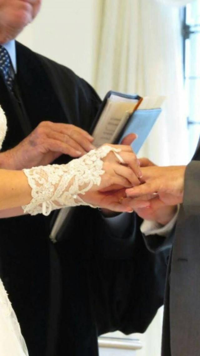 wedding photo - Wedding glove, bridal glove, fingerless lace, steampunk, Sparkle gloves, victorian, lolita, sexy belly dance, hand sewing