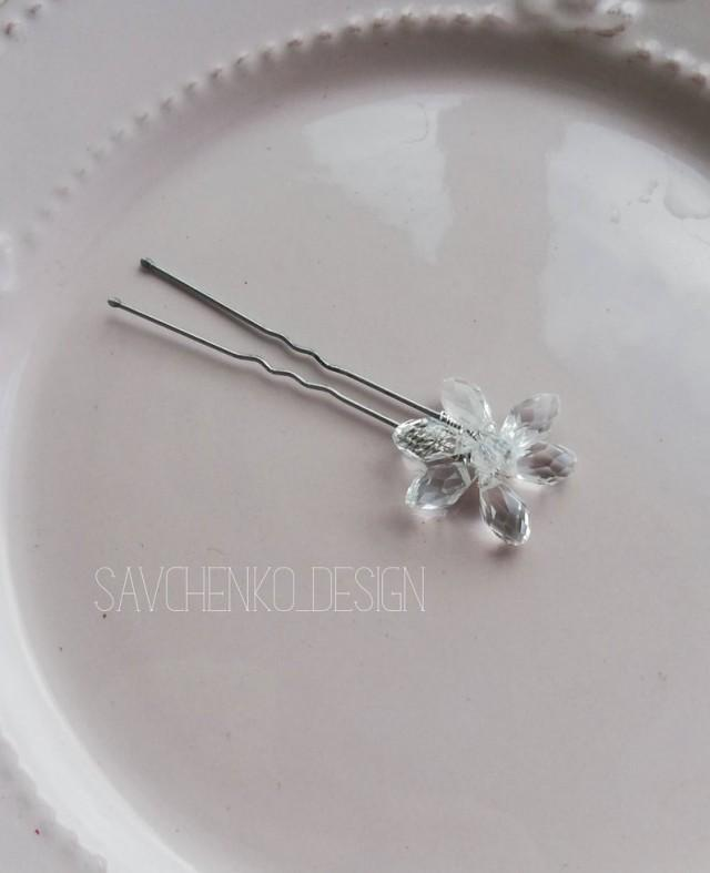 wedding photo - Bridal hair pins