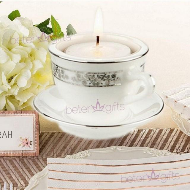 wedding photo - BeterWedding Aroma Wedding Tealight Candle Holder創意婚禮佈置禮品LZ034