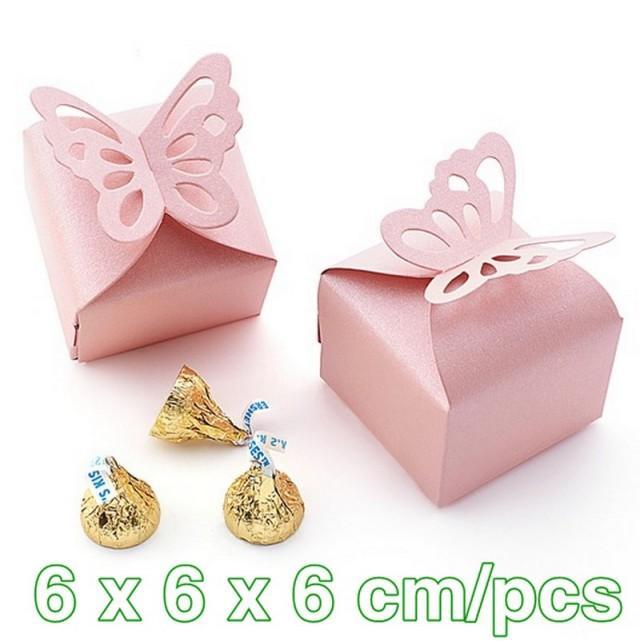 wedding photo - Bridal Shower Candy Box Wedding Reception bag TH025