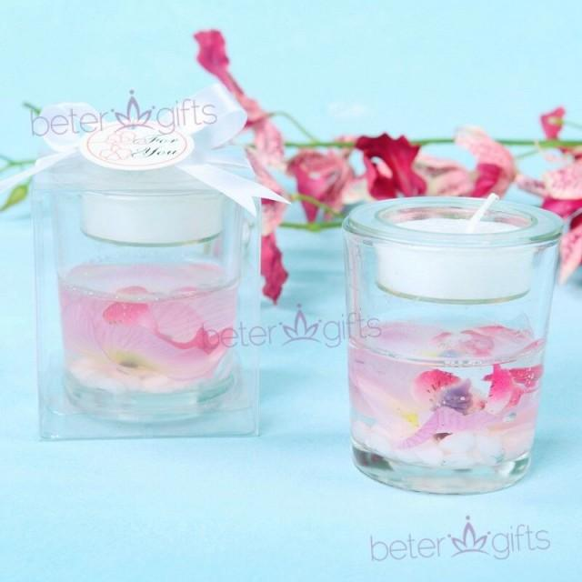 wedding photo - Elegant Orchid Tealight Candle Holder Décoration gave LZ040 https://detail.1688.com/...