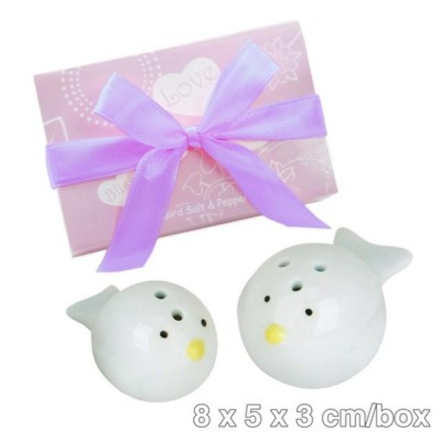 wedding photo - BeterWedding Gift Love Birds Salt and Pepper Shakers情人節禮物TC009