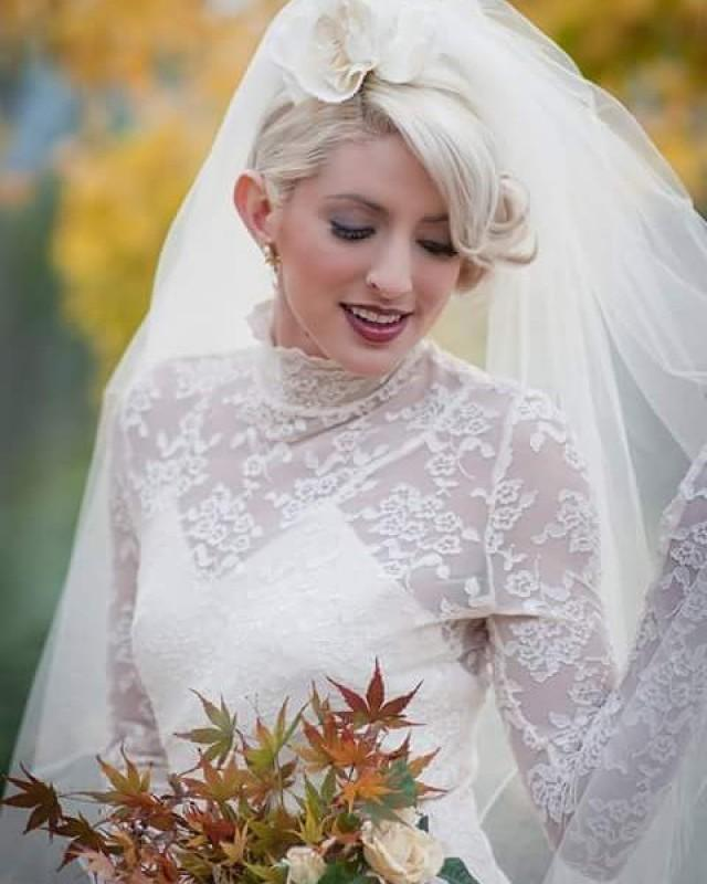 wedding photo - From the veil collection--Amy Jo Tatum Bridal Couture #bayareaphotography@pixamage #Mua@nwskinbrows #sfhairstylist @salonkaovey #veil #veils #fingertipveil #bridalveil