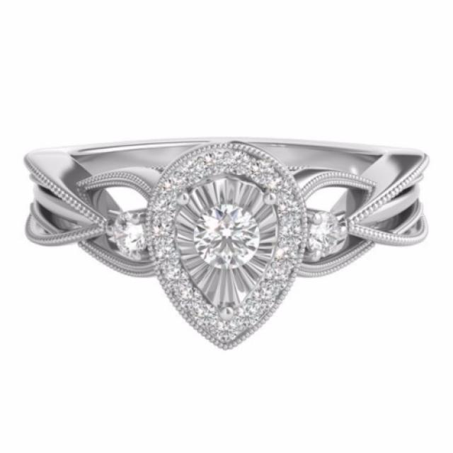 wedding photo - Best-selling - 1.5 Ct Antique Moissanite Ring (Free Shipping)