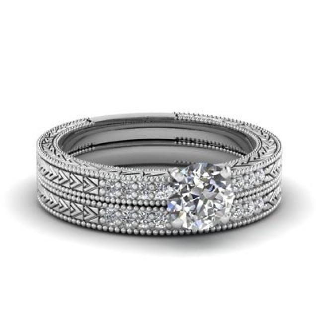 wedding photo - Best Selling 1.5ct Moissanite Bridal Ring Sets