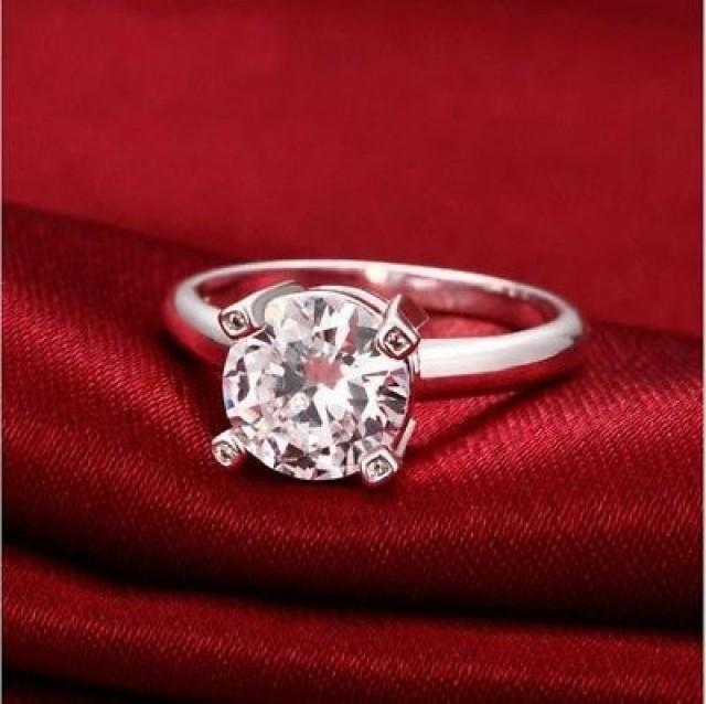 wedding photo - Buy 1.5ct Moissanite Wedding Ring India (Free Shipping)