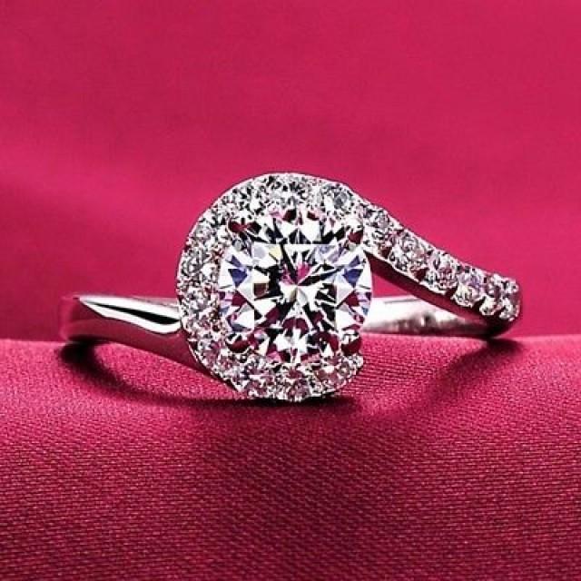 wedding photo - Buy 2 ct Moissanite Ring