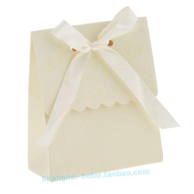 wedding photo - 12pcs餅乾包裝袋子佈置Summer Wedding糖果盒喜糖盒DIY禮盒TH003