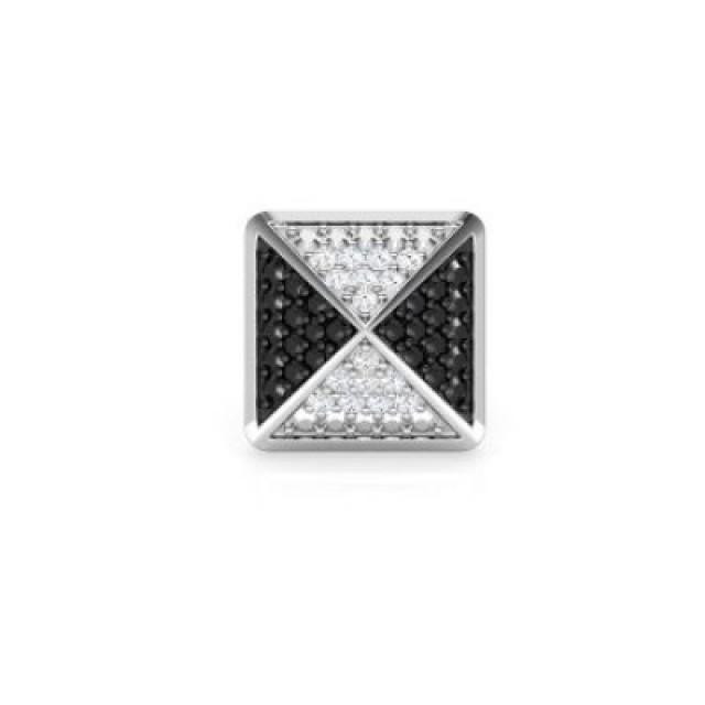 wedding photo - Men's Earrings 0.42 Carat Craft In 14k White Gold Best Reasonable Prices