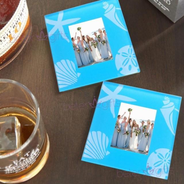 wedding photo - #betergifts 鋼化玻璃杯墊單身夜派對婚禮小禮物Party青島伴手禮BD036