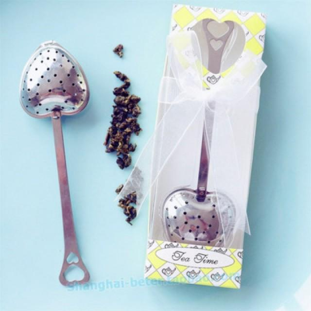 wedding photo - #beterwedding Thanksgiving Party gift  Bomboniere Tea Infuser Favors WJ035