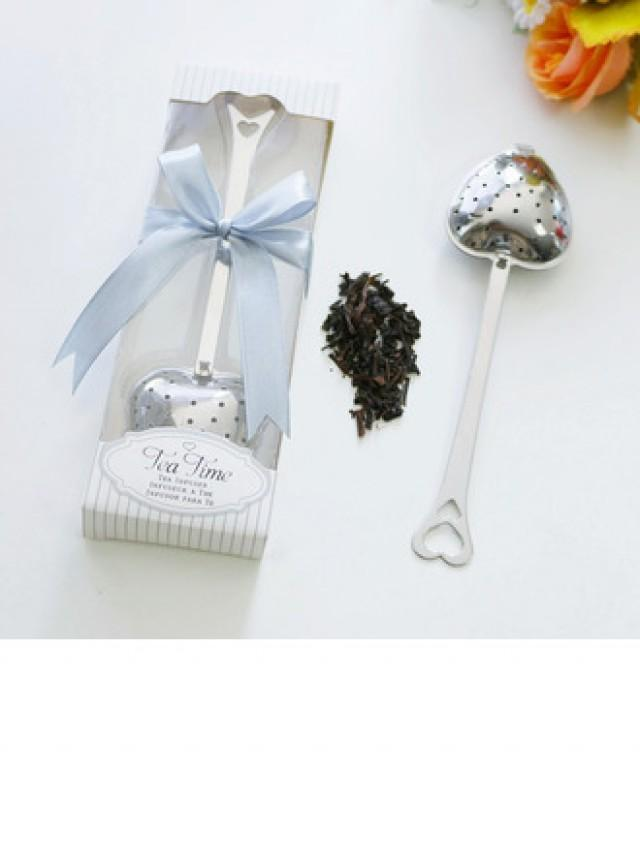 wedding photo - #beterwedding Tea Time Tea Infuser Favors