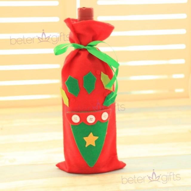 wedding photo - #紅色手套  #伴手禮 #Halloween 佈置 #酒瓶袋 酒瓶裝飾禮物袋貼畫酒瓶袋裝飾品HH105