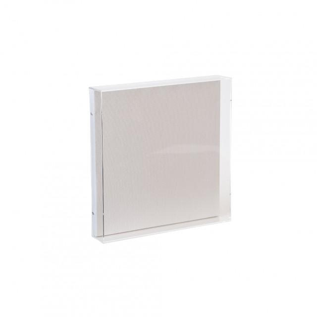 "12""x12""x2"" - Canvas Backed Acrylic Display Box, Wall Decor, Hanging Acrylic Picture Frame, Art Frame, Acrylic Event Signage"