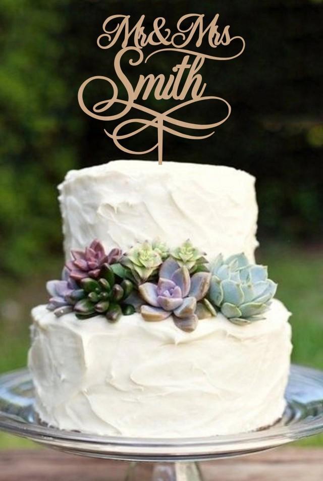 Wedding Cake Topper Mr and Mrs  Cake Topper Personalized Cake Topper Custom Wedding Cake Topper Wood Cake topper Rustic Cake topper