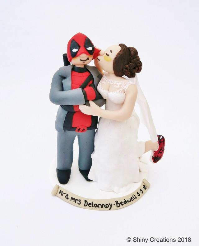 Personalised Geek Wedding Cake Topper