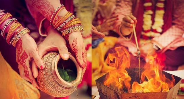 wedding photo - Which Gujarati Wedding Traditions Are Performed On The Wedding Day?
