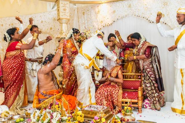 wedding photo - What Are The Rituals You Get To See In Tamil Weddings? -