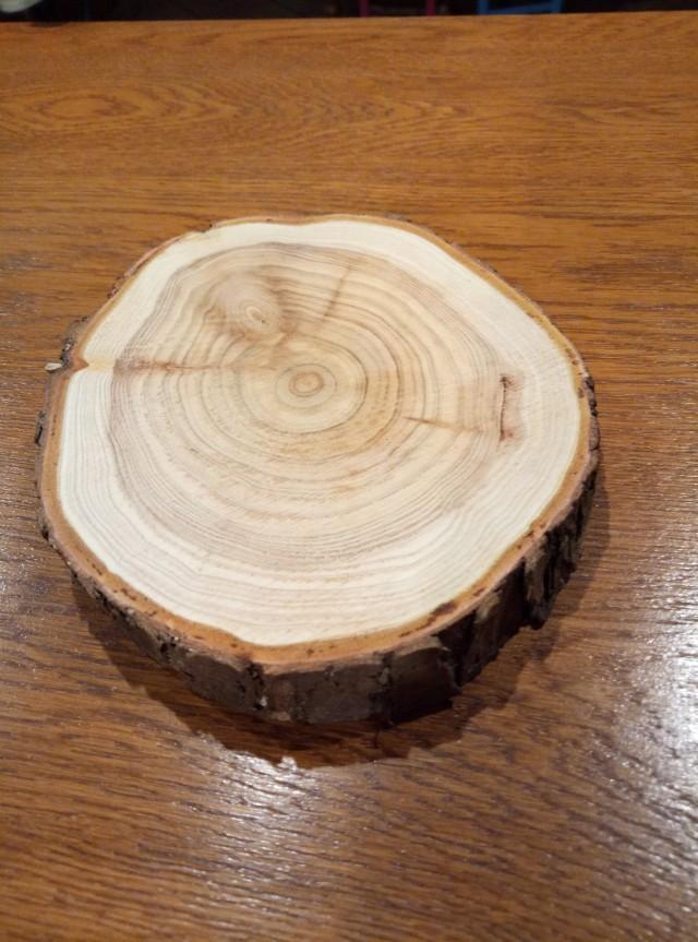10 cm diameter wood rings