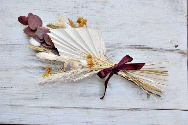 wedding photo - Palm Spear Mini Dried Bouquet Home Decoration Arrangement, Floral Arrangement Minimal Decor, Eternal Mini Bouquet.