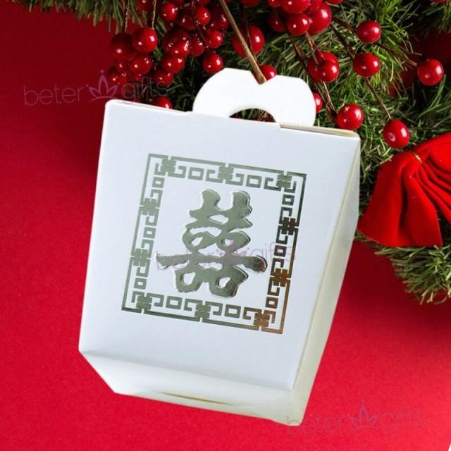 wedding photo - Happy New Year Chinese Souvenir Candy Box Favors #candybox #favorbox #giftbox #beterwedding
