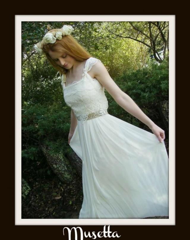 wedding photo - Boho Wedding Dress 'MUSETTA'