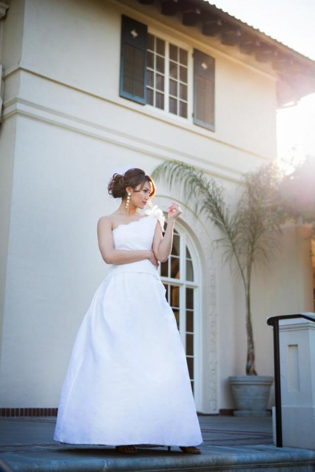 wedding photo - HARMONY: A Lightweight Taffeta Wedding Dress