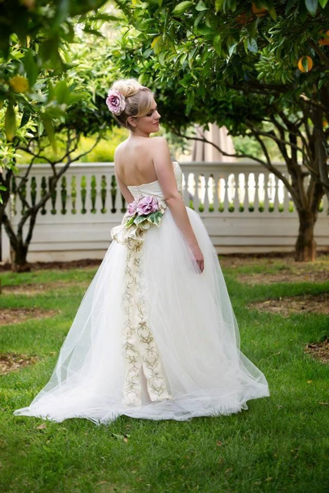 wedding photo - ROSE OF SHARON Tulle Ball Gown