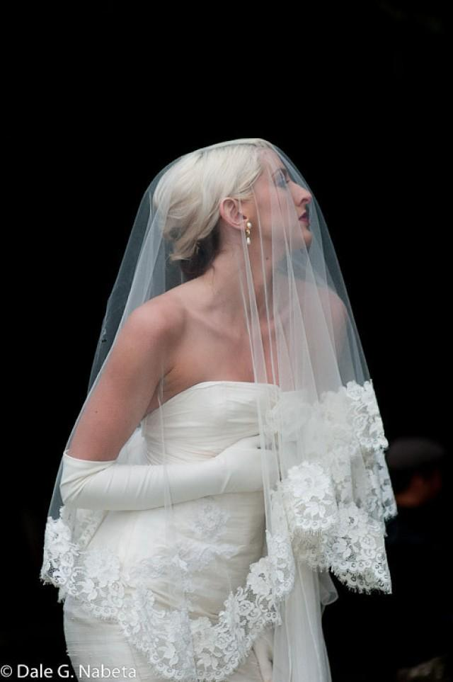 wedding photo - Mantilla