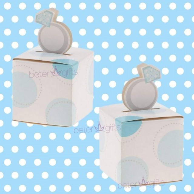 wedding photo - Birthday Baby #NewBornBoy #FavorBox #candybox TH019 #diyparty