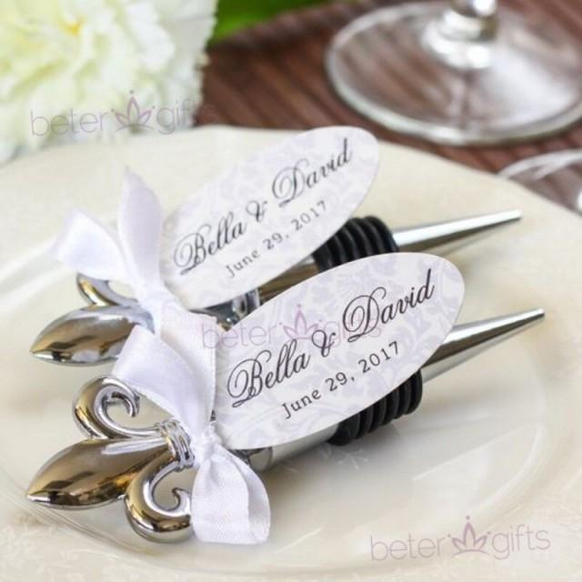 wedding photo - Fleur de Lis Flaschenöffner Brautjungfern begünstigt WJ079 #weddingfavors