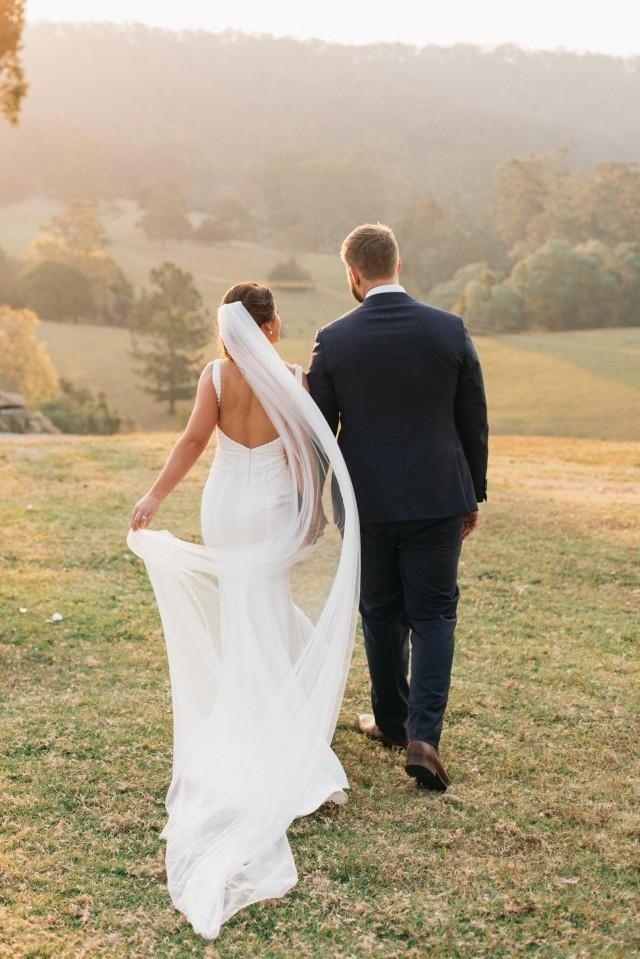 Full Wedding Veil, Soft Bridal Veil