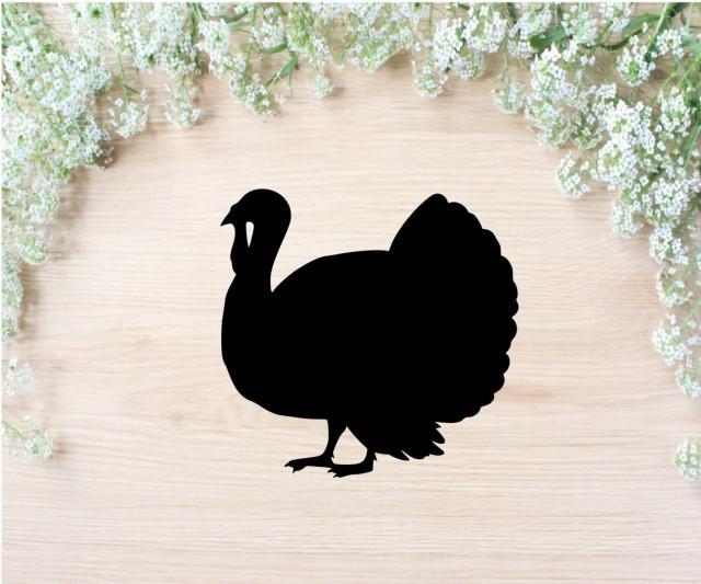 Turkey SVG Cut File, SVG cut file Turkey dxf Cricut svg Silhouette svg Cricut cut file Silhouette Cameo Turkey Silhouette cock SVG studio