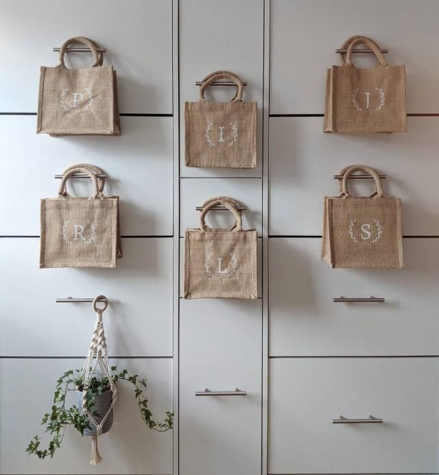 Mini Jute Bag • Laurel Design