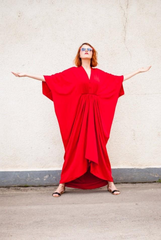Kimono Summer Dress Women Maxi Wrap Dress Plus Size Work Dress TDK26 Evening Gown Maternity Breastfeed Dress for 3XL Formal Long Dress