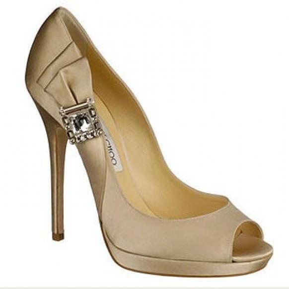 9156ed18d42 Jimmy Choo Wedding Shoes ♥ Chic Wedding Shoes